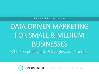 Data-Driven Marketing For Small & Medium Businesses