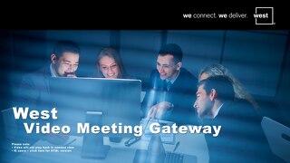 West Video Meeting Gateway - UK