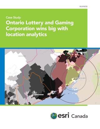 Ontario Lottery and Gaming Corporation wins big with location analytics