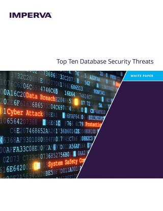 Top 10 Database Threats