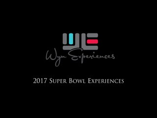 2017 SuperBowl Experience - WE