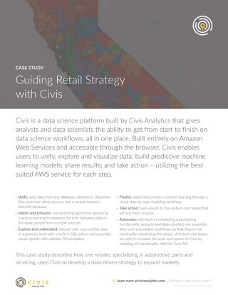 Civis Analytics Case Study - Guiding Retail