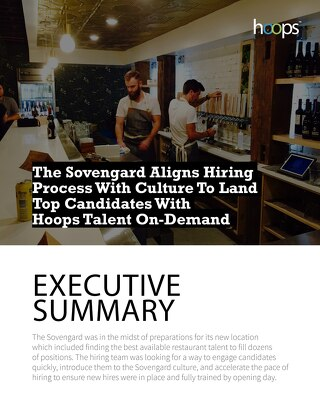 Case Study - The Sovengard Biergarten & Kitchen