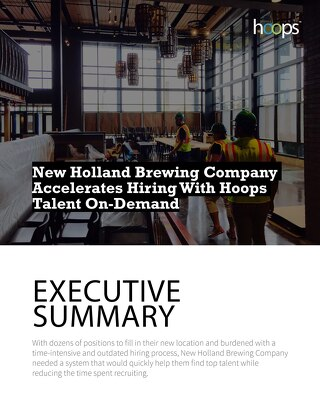 Case Study - New Holland Brewing Company