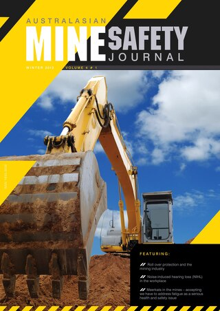 Australasian Mine Safety Journal Volume 4 Winter 2012