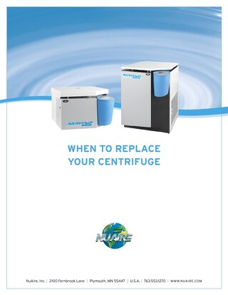 [White Paper] When to Replace Your Laboratory Centrifuge