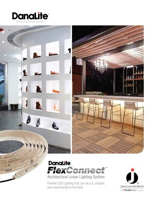 DanaLite FlexConnect Achitectural Linear Lighting System