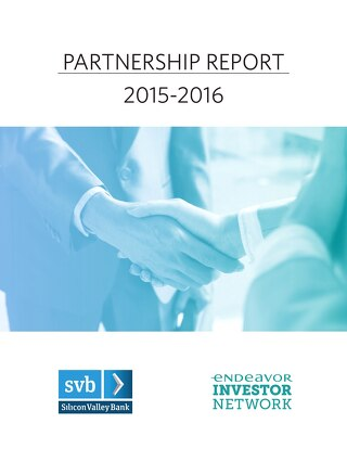 Endeavor & SVB Partnership Report 2015-16