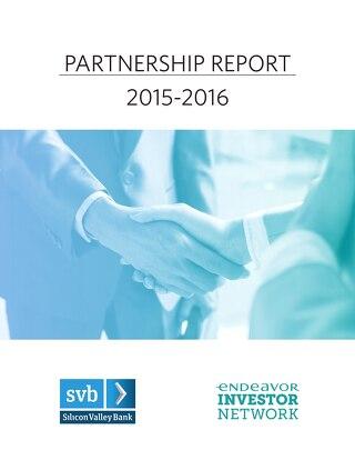 Endeavor & SVB Partnership Report 2015-16