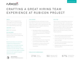 Case Study - Rubicon Project