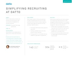Simplifying Recruiting at Datto
