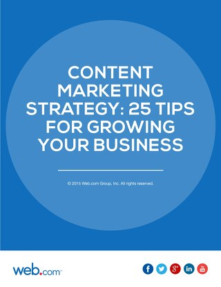 25 Content Marketing Strategies for Growing Your Small Business