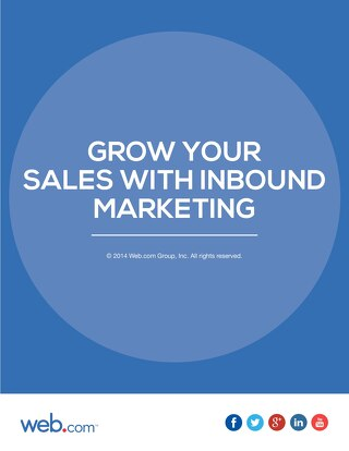 Grow Your Sales With Inbound Marketing