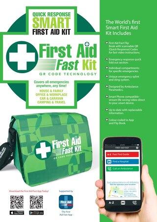 First Aid Fast QRKit Brochure