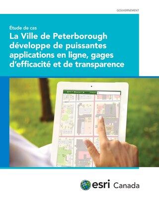 La Ville de Peterborough développe de puissantes applications en ligne, gages d'efficacité et de transparence