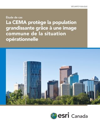 La CEMA protège la population grandissante grâce à une image commune de la situation opérationnelle