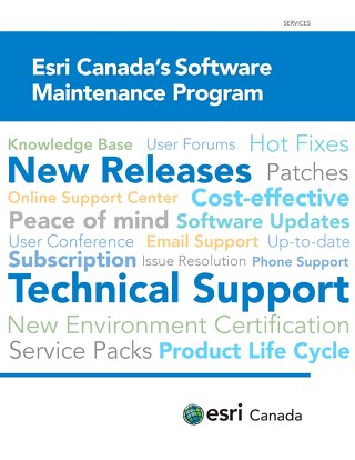 Esri Canada's Software Maintenance Program - Expanded Brochure
