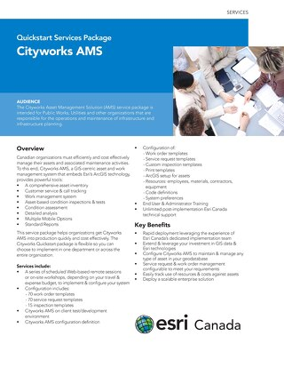 Cityworks AMS - Quickstart Services Package