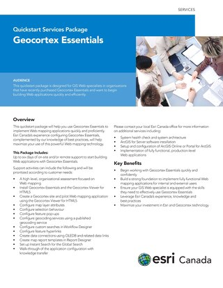 Geocortex Essentials - Quickstart Services Package