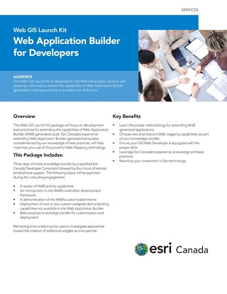 Web Application Builder for Developers