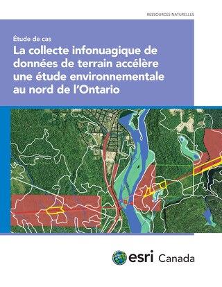 La collecte infonuagique de données de terrain accélère une étude environnementale au nord de l'Ontario
