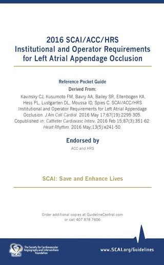 Left Atrial Appendage Occlusion