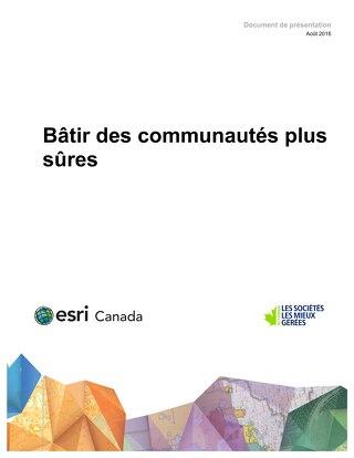 Bâtir des communautés plus sûres