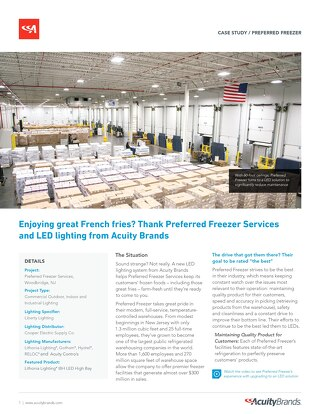 Cold Storage LED Lighting Upgrade [Case Study]