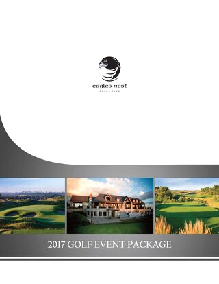 2017 Golf Event Package