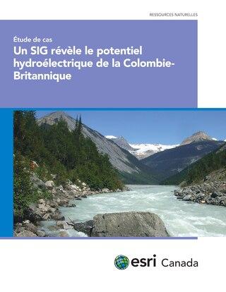 Un SIG révèle le potentiel hydroélectrique de la Colombie-Britannique
