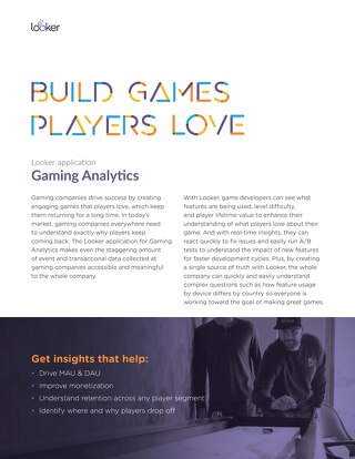 Gaming Analytics