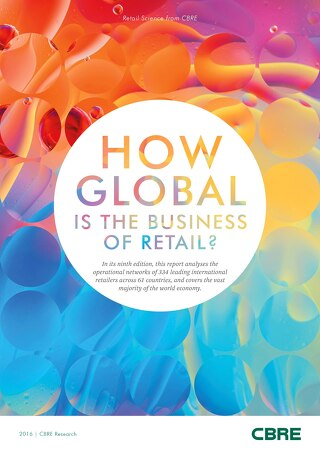How Global Is The Business Of Retail 2016
