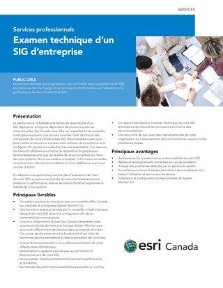 Examen technique d'un SIG d'entreprise
