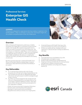 Enterprise ArcGIS Health Check