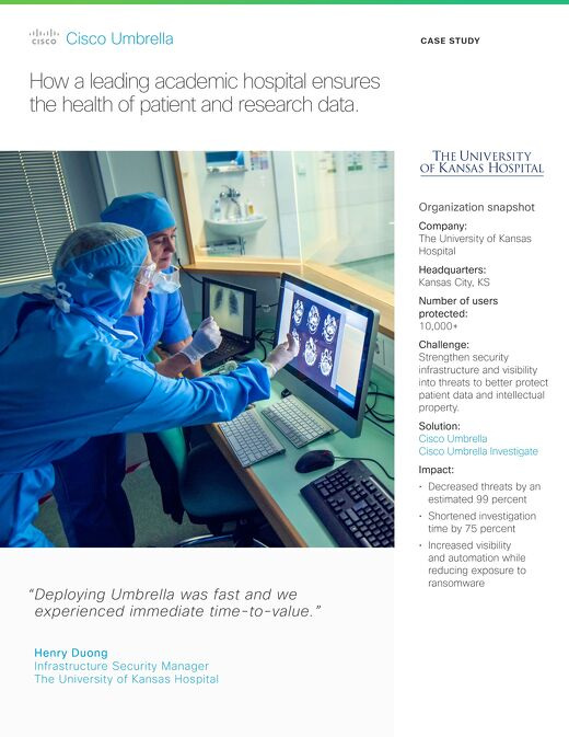 University of Kansas Hospital Case Study