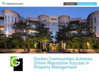 Garden Communities Achieves Reputation Success in Property Management - Case Study