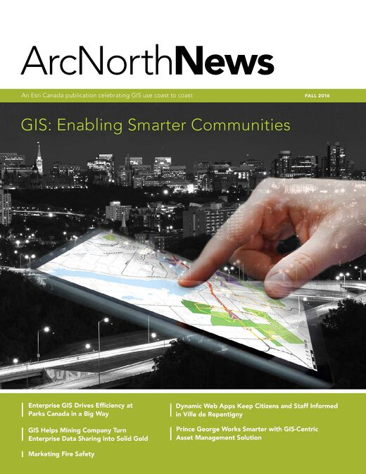 Volume 19 No. 2 - GIS: Enabling Smarter Communities (Fall 2016)