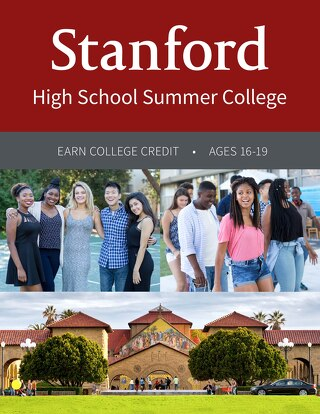 Stanford High School Summer College 2017 Brochure