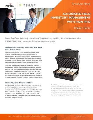 Automated Field Inventory Management With RAIN RFID