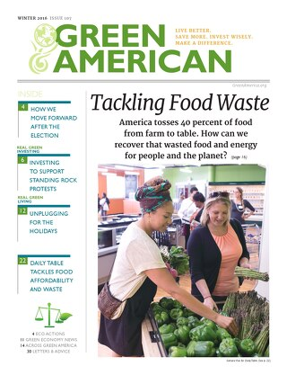 Green American #107, Winter 2016