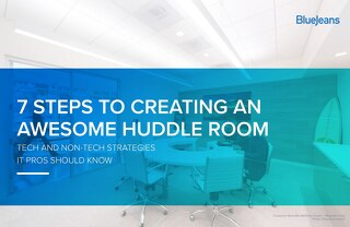 7 Steps To Creating An Awesome Huddle Room
