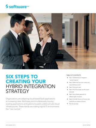 6 Steps to create a Hybrid Integration Strategy