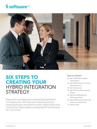 6 Steps to create a Hybrid Integration Strategy