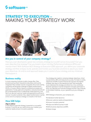 Strategy to Execution – Making Your Strategy Work