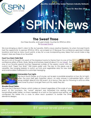 Nov & Dec 2016 SPIN News