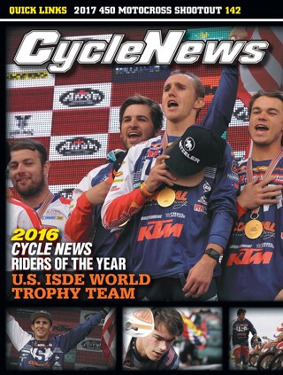 Cycle News 2016 Issue 50 December 20