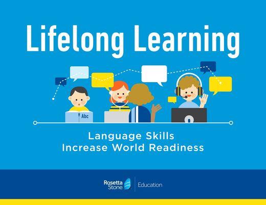 Language is a Lifelong Skill