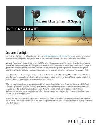 Midwest Equipment & Supply