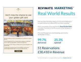 Real World Results: Royal Garden Hotel