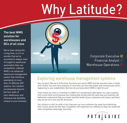 Why Latitude WMS?